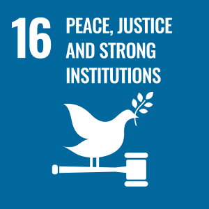Promote peaceful and inclusive societies for sustainable development, provide access to justice for all and build effective, accountable and inclusive institutions at all levels