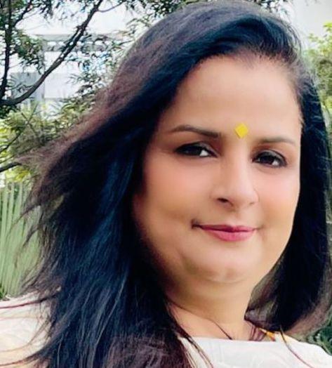 Author Anuradha Jain